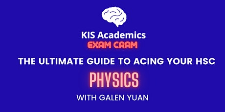 The Ultimate Guide to Acing Your HSC: Physics tickets