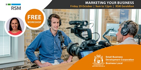 Marketing Your Business (Geraldton) tickets