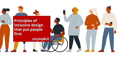 Principles of Inclusive Design that put people first (ONLINE) tickets