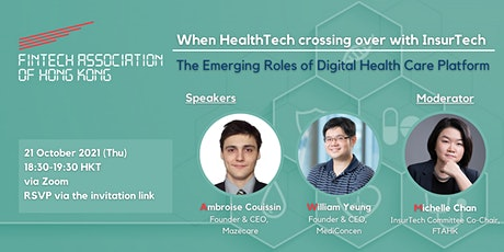 FTAHK Presents: When HealthTech crossing over with InsurTech ingressos