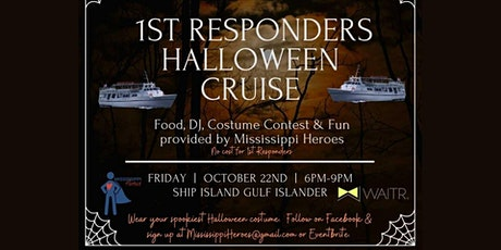 1st Responders Halloween Cruise tickets