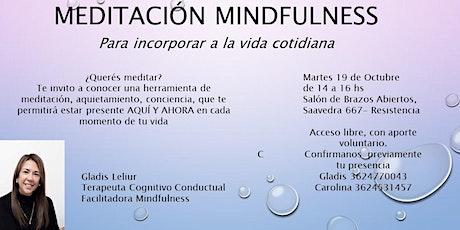 Meditación MINDFULNESS Promoviendo consciencia para aliviar el sufrimiento entradas