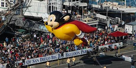 Port of San Diego Big Bay Balloon Parade Grandstand Ticket tickets