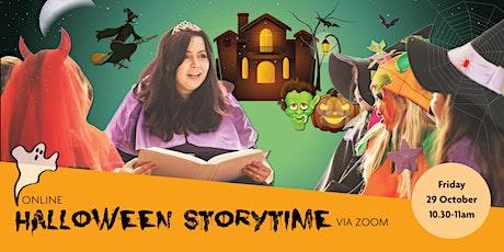 Online Halloween Storytime via Zoom tickets