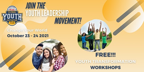 Change Your World Global Youth Initiative October 23 - 24, 2021 Asia tickets