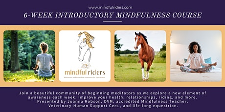 Mindful Riders SIT Course, Introduction to Mindfulness Meditation tickets