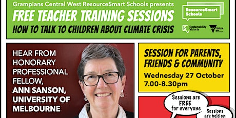 How To Talk To Children About Climate Crisis - Parents & Community tickets