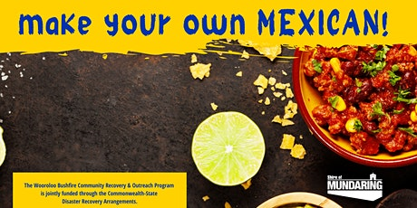 Wooroloo Connect Community Meal - MYO Mexican tickets