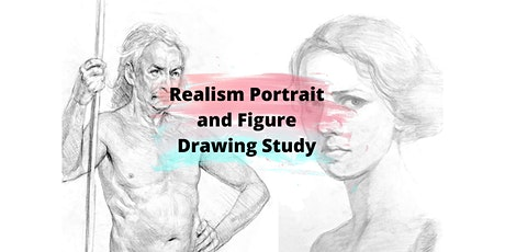 4 Sessions Virtual Realism Portrait and Figure Drawing Study ZOOM tickets