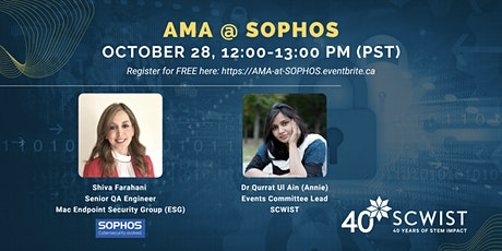 Ask Me Anything with Sophos tickets