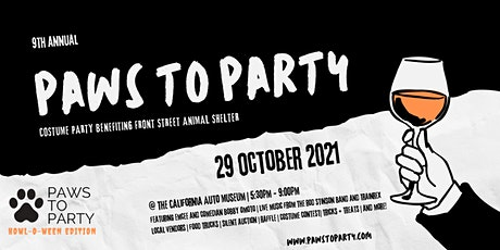 9th Annual Paws to Party tickets