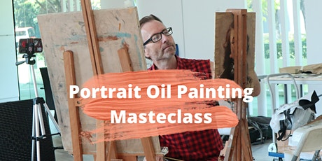4 Sessions Virtual  Portrait Oil Painting Masterclass ZOOM tickets