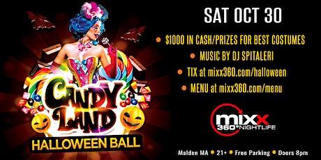 Mixx 360 Candy Land Halloween Ball tickets
