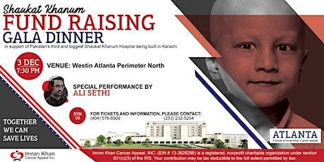 Shaukat Khanum Fundraising Gala Dinner in Atlanta, USA tickets