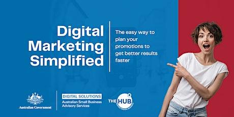 Digital Marketing Simplified tickets