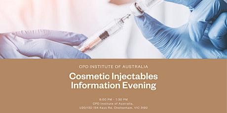 Information Evening tickets