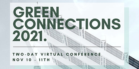 Green Connections 2021 tickets