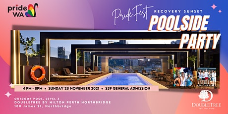 PrideFest Recovery Sunset Poolside PARTY tickets