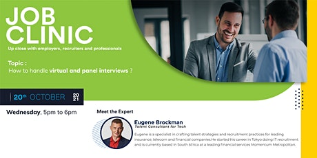 How to Handle Virtual and Panel Interviews tickets