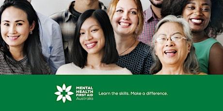 Mental Health First Aid - 2 Day Workshop - CHARLTON tickets