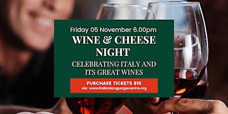 Wine & Cheese Night tickets