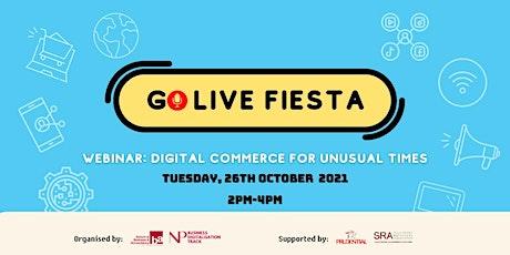 Ngee Ann Poly Business Digitalization Track Go Live Fiesta 2021 Webinar ingressos
