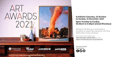 Melville Art Awards. opening event invitation tickets
