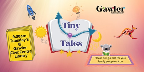 Tiny Tales - library storytime tickets