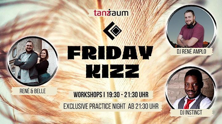 Friday Kizz Exclusive Practice Night 2 Workshops mit René & Belle: Bild