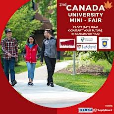 Canada University Mini-Fair! tickets