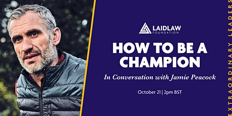 How to Be a Champion - In Conversation with Jamie Peacock tickets