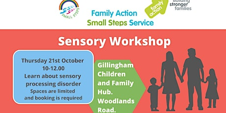 Sensory Difficulties Workshop (Medway residents only) tickets