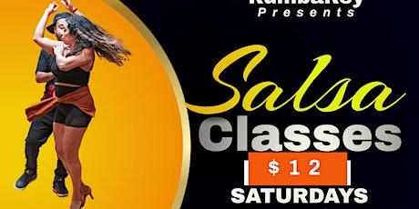 Salsa Classes Every Saturday 12pm tickets