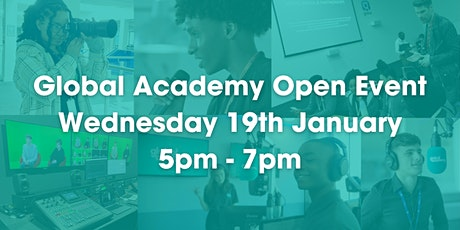 Global Academy Open Event - Wednesday 19th January tickets