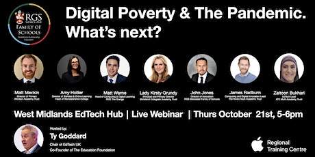 Digital Poverty & The Pandemic. What's next? tickets