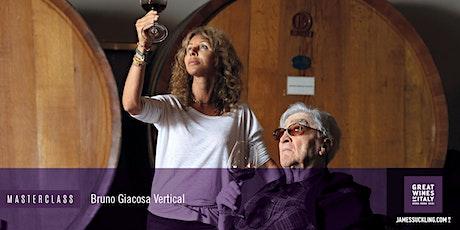 Exclusive James Suckling Masterclass: Bruno Giacosa Vertical Tasting tickets