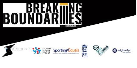 Breaking Boundaries Community Leaders Forum (Birmingham) tickets
