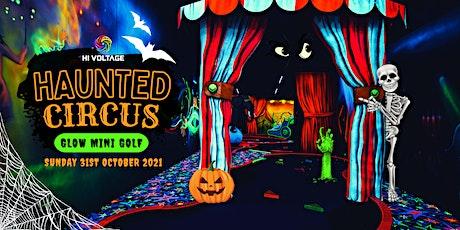 Haunted Circus Glow Mini Golf tickets