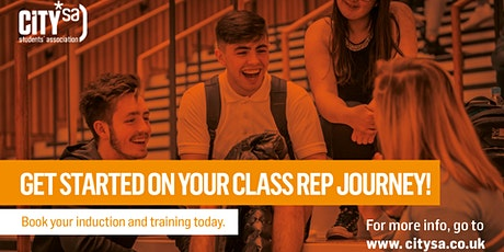 Class Rep Induction Sessions tickets