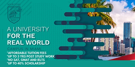 Post-Fair FREE Webinar: Marconi International University (Florida, USA) tickets