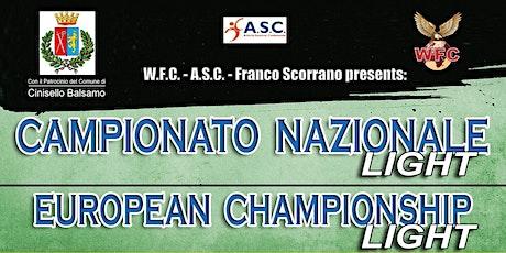 CAMPIONATO  LIGHT COMBAT biglietti