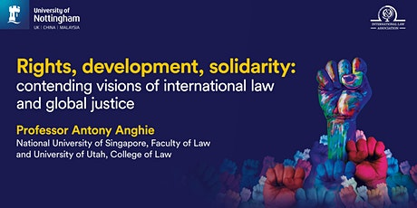 Contending Visions of  International Law and Global Justice tickets