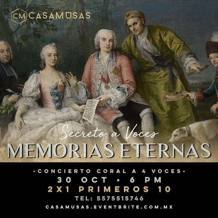 Imagen de MEMORIAS ETERNAS • Secreto a Voces