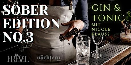 Sober Edition - NO.3 - Gin Tickets