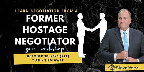 Learn Negotiation from a Former Hostage Negotiator! tickets