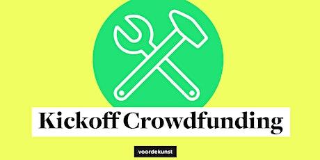 Offline kickoff crowdfunding i.s.m. Kunstraad en KultuurLoket Groningen tickets