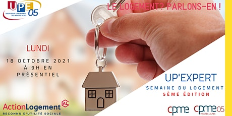 UP'Expert : Le logement ? Parlons-en ! billets