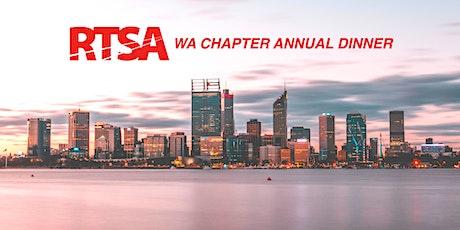 RTSA WA Chapter Annual Dinner tickets