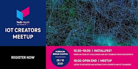 hubraum IoT Creators Meetup Tickets
