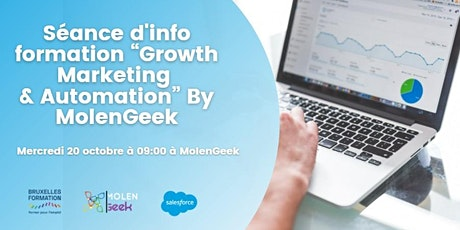 """Séance d'info- Formation """"Growth Marketing & Automation"""" tickets"""